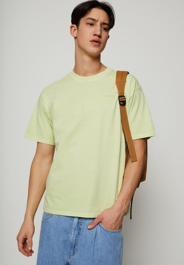 VINTAGE TEE - Basic T-shirt - greens