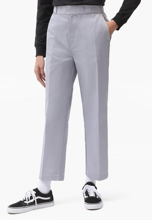 874 CROPPED PANTS - Trousers - lilac gray