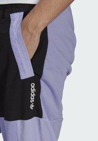 adidas Originals - ADV BLK PNT ADVENTURE ORIGINALS REGULAR TRACK PANTS - Träningsbyxor - purple - 3