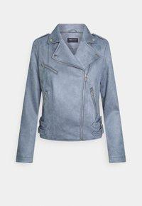 Marks & Spencer London - Faux leather jacket - blue - 0