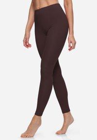 Bellivalini - Leggings - Trousers - brown - 3