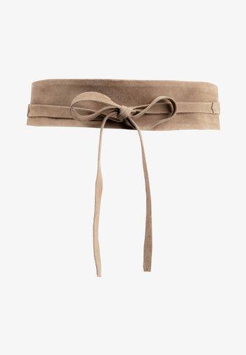Waist belt - cappuccino