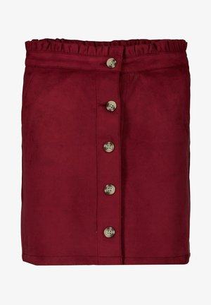 Pencil skirt - cabernet