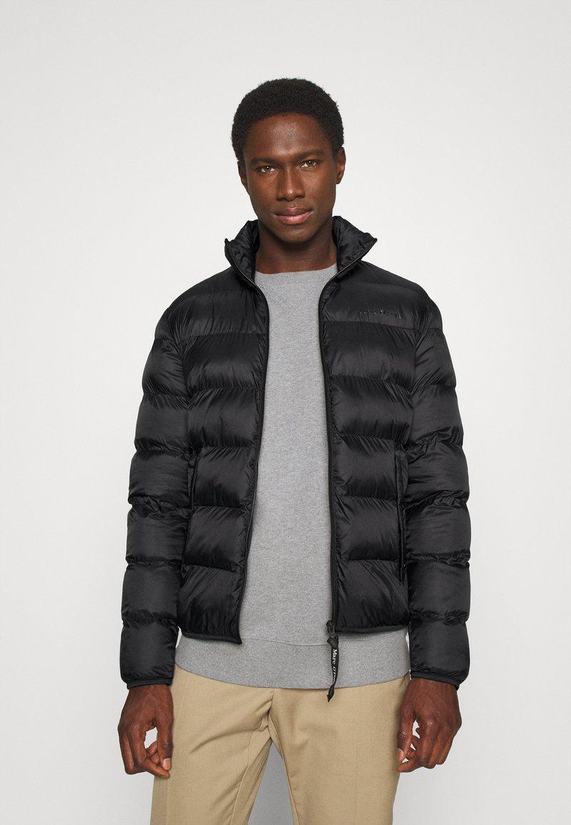 Marc O'Polo - JACKET REGULAR FIT - Light jacket - black