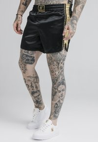 SIKSILK - MUAY TIE - Shorts - black/gold - 0