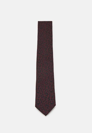 TIE - Corbata - red/blue