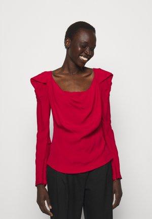 ELIZABETH - T-shirt à manches longues - red