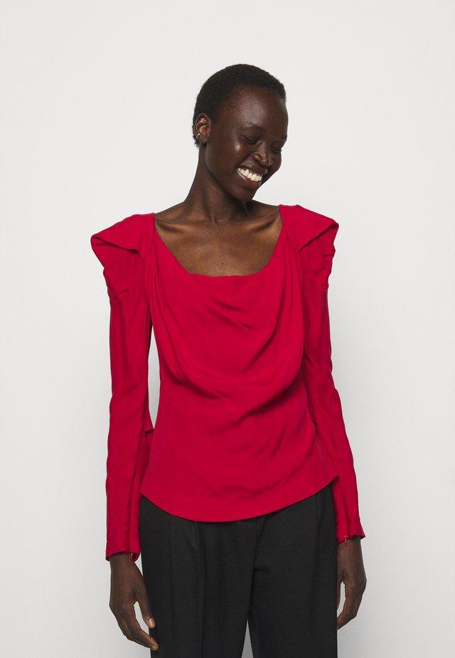 ELIZABETH - Langarmshirt - red