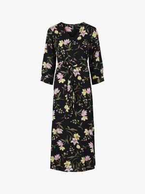 PCBRENNA ANKLE DRESS - Maxi dress - black