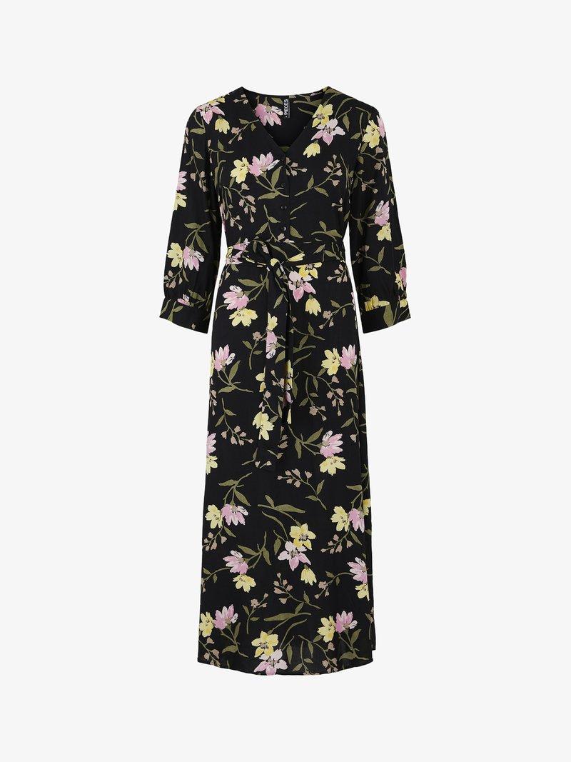 Pieces - PCBRENNA ANKLE DRESS - Maxi dress - black