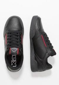 Kappa - MARABU - Zapatillas - black/red - 1