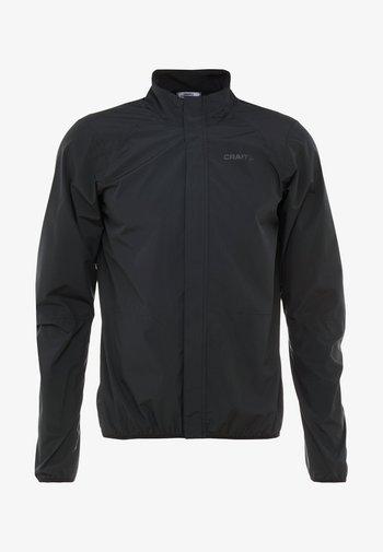 ADOPT RAIN JACKET - Outdoor jacket - black