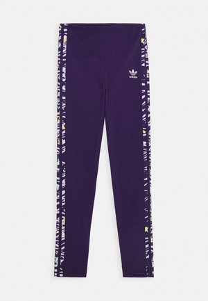 Leggings - Trousers - dark purple