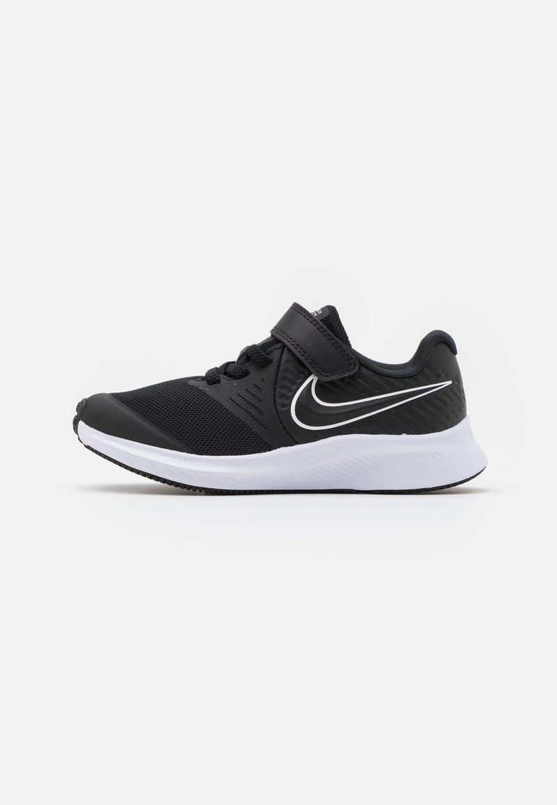 Nike Performance - STAR RUNNER 2 UNISEX - Zapatillas de running neutras - black/white/volt