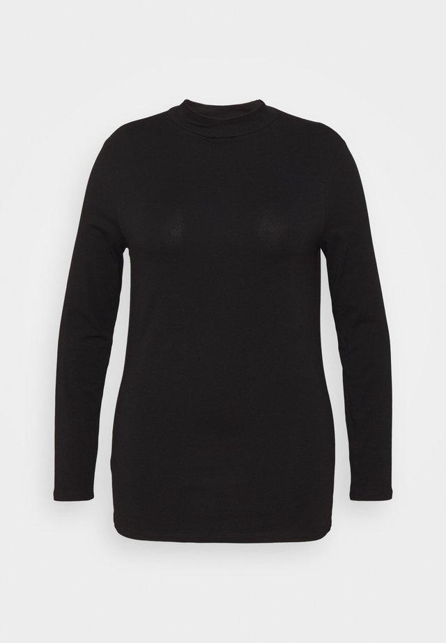 CUT OUT TURTLE - Långärmad tröja - black