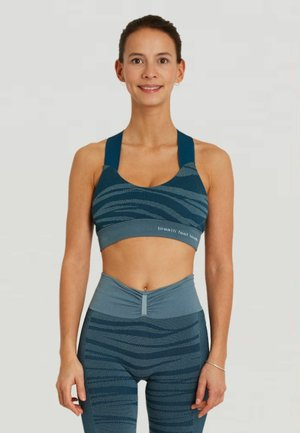 LAKSHMI - Medium support sports bra - duck