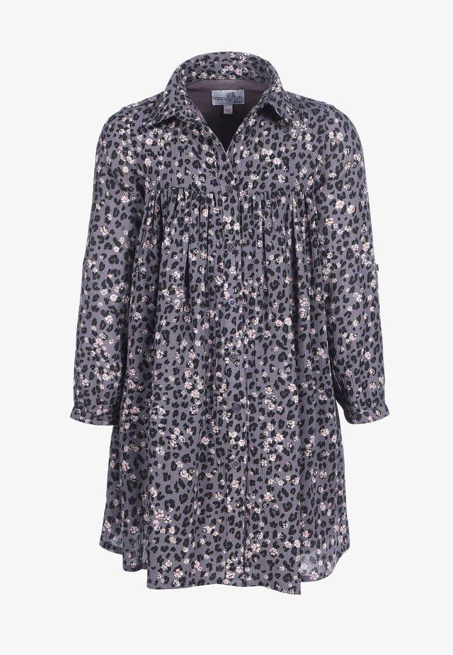 LEO - Robe chemise - grey