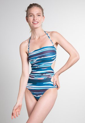 BAMBOO STRIPES RING  - Swimsuit - marine