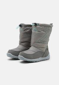Kappa - CESSY TEX UNISEX - Winter boots - grey/mint - 1
