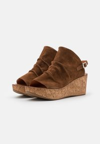 Felmini - MONACO - Platform sandals - brown - 2