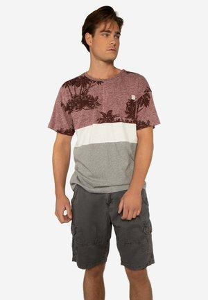 RATLEY  - Print T-shirt - dark cherry