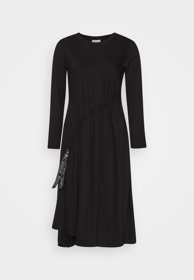 MAIN DRAW DRESS - Robe en jersey - black