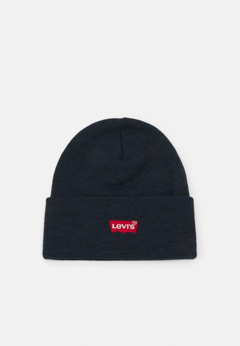 Levi's® - RED BATWING EMBROIDERED SLOUCHY BEANIE - Čepice - navy blue