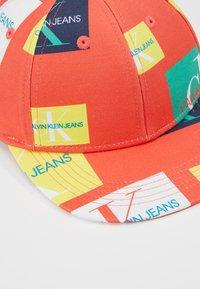 Calvin Klein Jeans - MONO FLAT PEAK - Cap - orange - 2