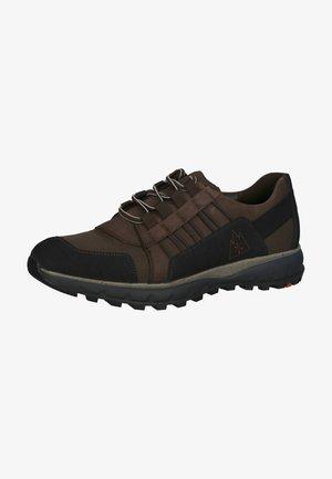 Sneakers laag - schwarz/brown/t.d.moro