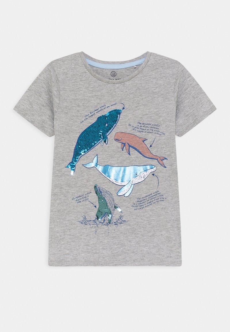 Lemon Beret - SMALL BOYS - T-shirt print - grey melange