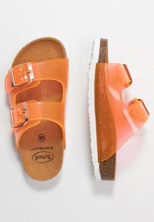 MAZDE - Sandalias planas - orange