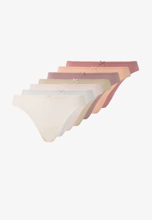 7PACK - Alushousut - beige