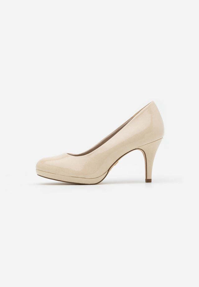 COURT SHOE - Classic heels - cream
