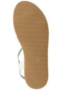 Scapa - SCAPA ZEHENSTEG - Sandals - wit / blanc 100 - 2