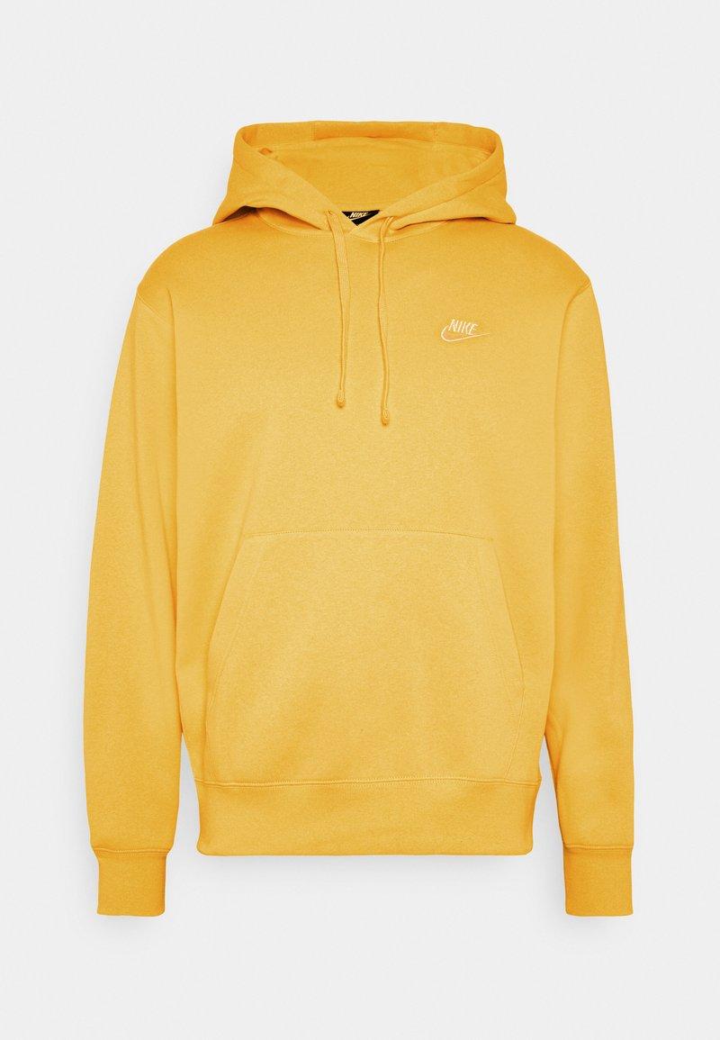 Nike Sportswear - CLUB HOODIE - Hættetrøjer - solar flare/white