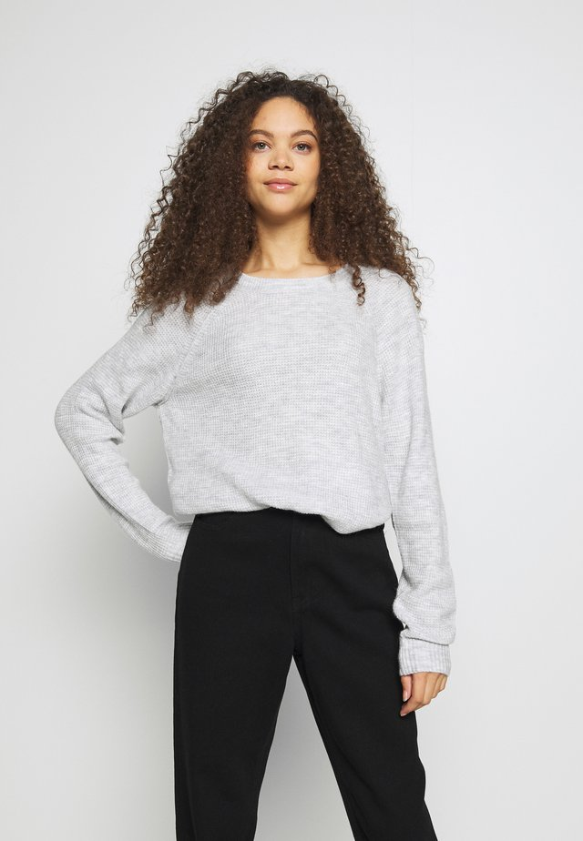Jumper - light heather grey