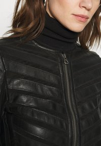 Gipsy - SURI LELEV - Leather jacket - black - 4