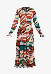 YAS - YASSAVANNA DRESS - Denní šaty - marsala/multi - 4