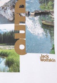 Jack Wolfskin - LAKE MORNING  - Print T-shirt - white rush - 2