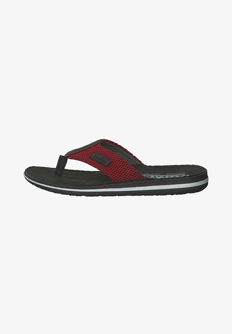 Rieker - T-bar sandals - black