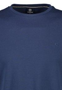 LERROS - MIT RUNDHALSAUSSCHNITT  - Basic T-shirt - blue - 2