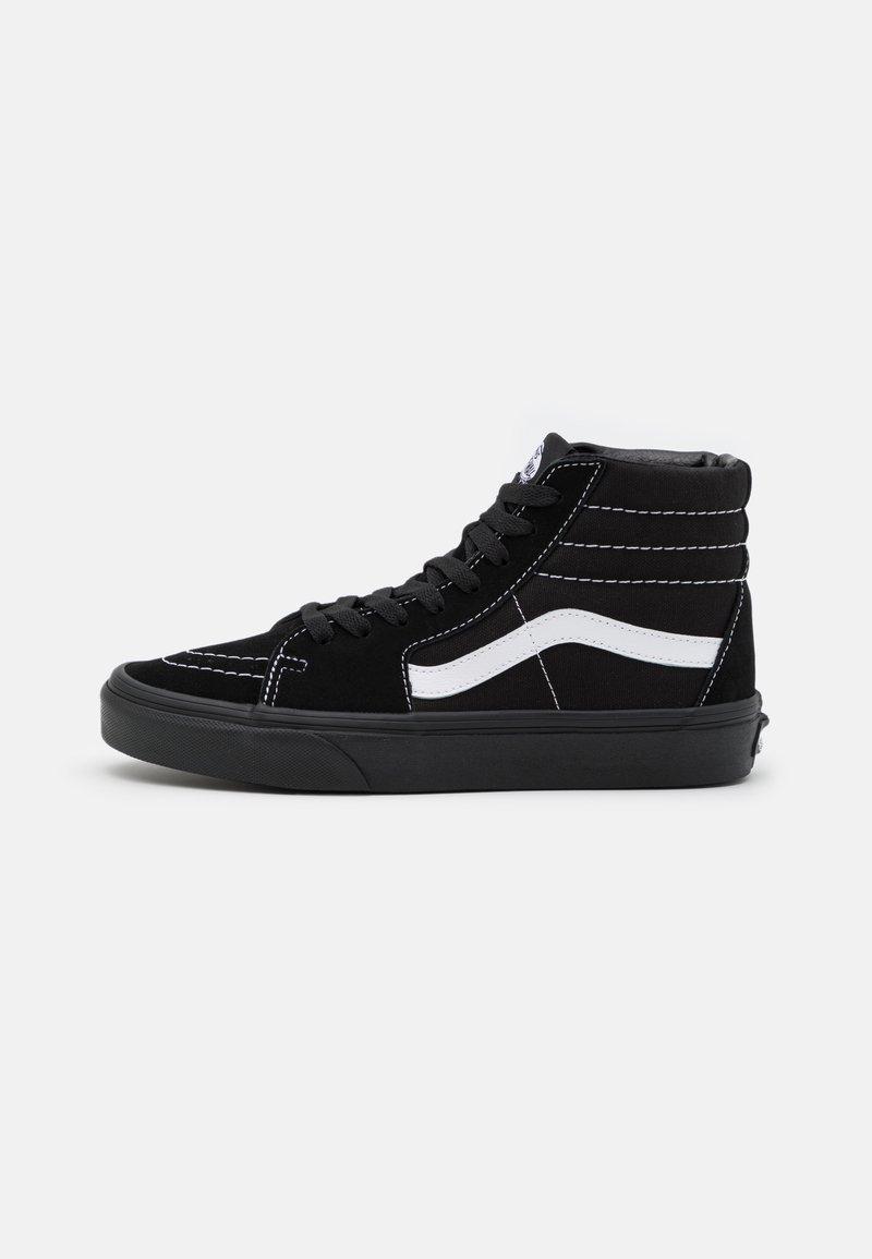 Vans - SK8-HI UNISEX - Höga sneakers - black/true white