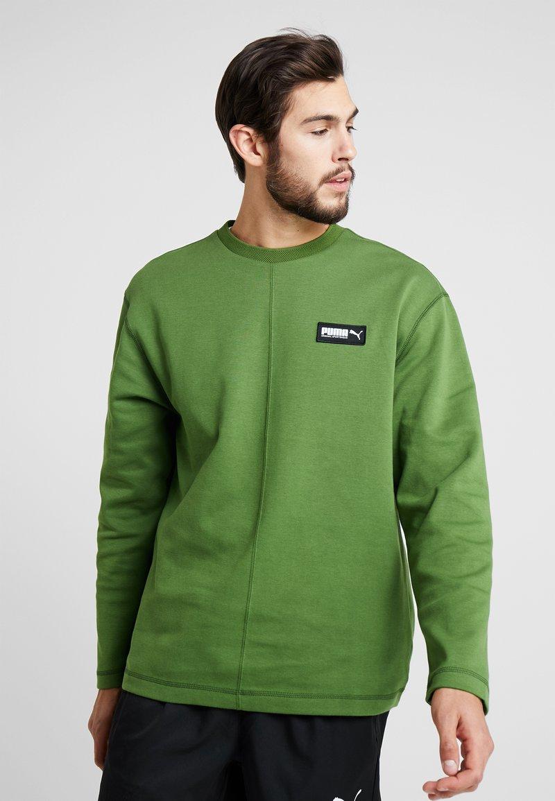 Puma - FUSION CREW - Sweatshirt - garden green