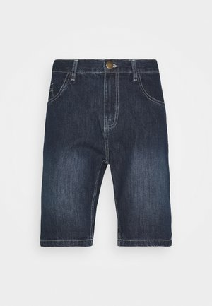 Denim shorts - dark blue wash