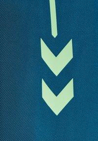 Hummel - ACTION - Zip-up hoodie - blue coral green ash - 3