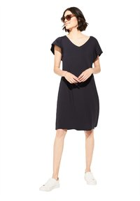 comma casual identity - Jersey dress - marine - 1