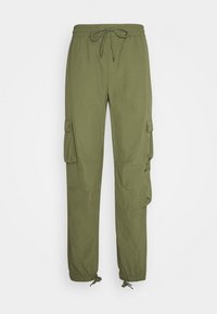 Russell Athletic Eagle R - ADMIRAL UNISEX - Cargo trousers - four leav clover - 0