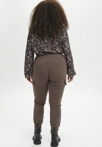 Kaffe Curve - KCSINE  - Cargo trousers - brown - 2