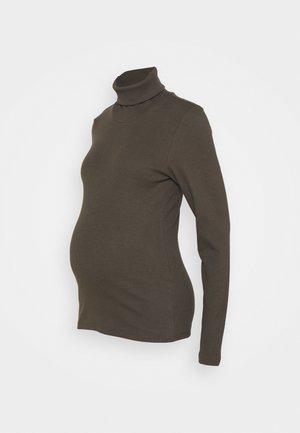 PCMANNA ROLLNECK - Långärmad tröja - black olive