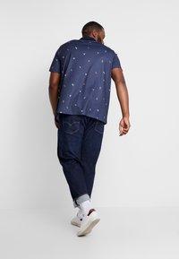 Burton Menswear London - BIRD - Poloshirt - navy - 2